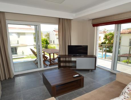 Nadia Apart (6 + 2 Persons) - Living Room - Luxury Villa